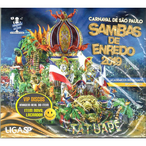 Cd Carnaval Sambas De Enredo 2019 São Paulo Duplo - Lacrado!