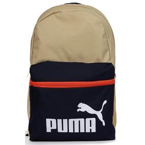 Mochila Puma Phase Backpack - Bege E Azul
