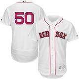 Jersey Majestic Mookie Betts Boston Red Sox Extragrande