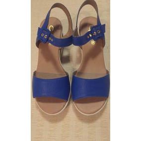 Sandalia De 36 N azules Ultra Gacel Cuero Light 84H78