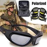 Óculos Militar Tático Tiro Prático Airsoft Daisy C5 Uv400