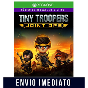 Tiny Troopers Joint Ops Xbox One Cdigo 25 Dgitos