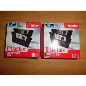 Diskettes Lmation 2hd 3.5 1,44 Md Caja 10 Unidades Nuevo