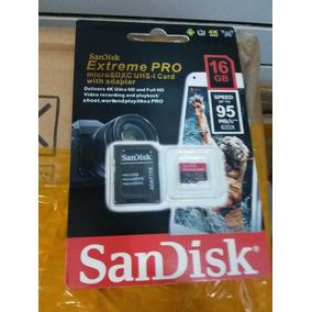 Memoria Sandisk 16 Gb Extreme Pro. Ventas Al Mayor Y Detal