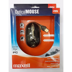 Mouse Óptico Maxell 800 Dpi Modelo Mowr 008 Somos Tienda