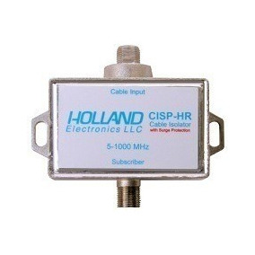 Kit 2x Isolatorcable Electronic Holland Cisp-hr 5-1000mhz