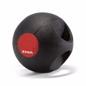 Medicine Ball C/ Agarre 3 Kg Ziva Dgmb1503 Cuotas S/ Interés