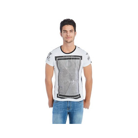 Playera Boy London Blanca Pr-1556922