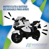 Motocicleta A Batería Recargable Para Niños, Ultimo Modelo