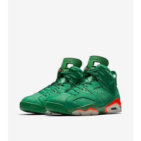 Nike Air Jordan Vi 6 Gatorade Pine Green Verdes 28mx 10us