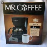Caffetera Mr Coffee Negra - Para Realizar De 4 A 5 Tazas