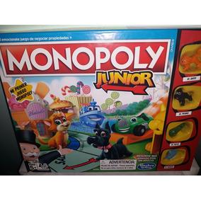 Monopoly Junior Party Juego De Mesa Para Ninos En Mercado Libre Mexico