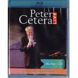 Peter Cetera Live En Vivo Concierto Blu-ray + Cd