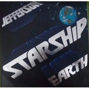 Lp Jefferson Starship Earth [ Count On Me ] Ex Capa E Disco