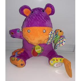 Peluche Hippo Con Actividades Biba Toys Babymovil Di2332