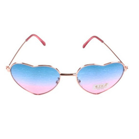 b984d696de77b Óculos De Sol Infantil Lika Acessórios Aviador Coração 5139