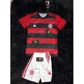 Conjunto Infantil Oficial Do Flamengo Promoção. R  119 6bbe781d32a70