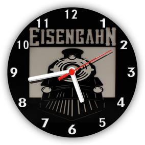Relógios Parede Bar Churrasco Cerveja Eisenbahn 30 Cm