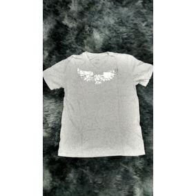 98248db658753 Camiseta Armani Exchange M Gola V Cinza Lote 12