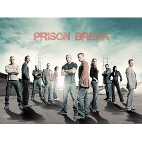 Dvd Prision Break 1,2,3,4 E 5 Temporada + Filme