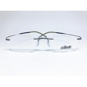 Armação Óculos Grau Silhouette L718 Titanium Grafite - Óculos no ... fd1560f97f