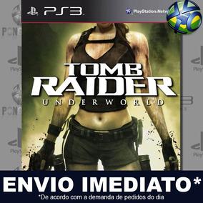 Tomb Raider Underworld Ps3 Midia Digital Psn Envio Imediato