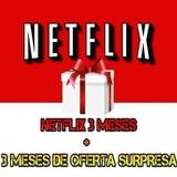 Cartao Pre-pago Presente Netflix R$17. Reais! 3mês + Bonus!