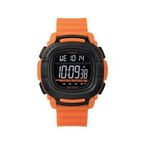 9f4b998886aa Reloj Timex Naranja Y Negro - Reloj para Hombre Timex en Mercado ...
