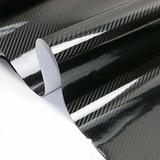 Papel Vinilo Fibra De Carbono 5d + Protector Auto Karvas
