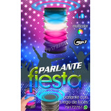 Parlante Bluetooth Para Fiesta Juego De Luces Multicolor