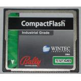 Memoria Compact Flash Wintec Industrial 512mb Cf