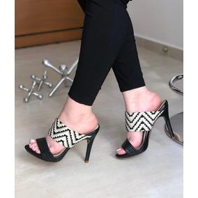 Zapatos Elegantes Dama Negro Dorado - Ropa y Accesorios en Mercado ... 9754cb3fc3dd