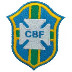 000c57f907 Escudo Da Seleção Brasileira Bordado Patch Brasil - Artigos de ...