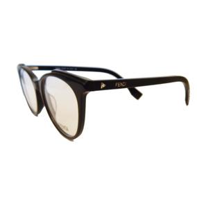 Armação Óculos De Grau Fendi Gatinho Ff0249 Feminino Redondo 5617a83c48