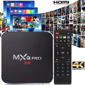 Tv Box Mxq Pro 4k Android Quad Core 8gb Hdmi Wifi Smart