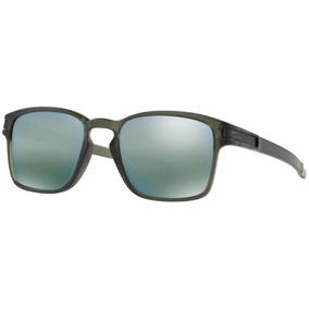 4666b60a7a2f7 Oculos Solar Oakley Latch Sq Esmerald Iridium 9353 08