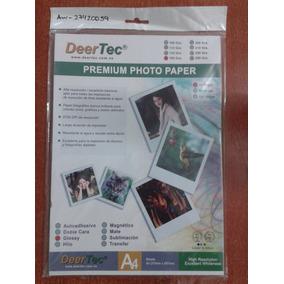 Papel Fotográfico Deertec Glossy 180gr 20 Hojas