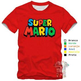 Camisa Super Mario