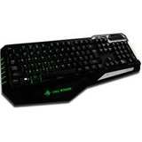Teclado Gamer Eagle Warrior Modelo Tank / Negro / Ala Kb-658