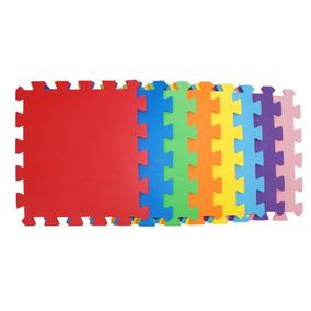 Pisos Goma Eva 50x50 10mm Fabricantes Encastre Colores Bebe
