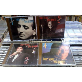 Cds Forty Years The Artistry Of Tony Bennett 4 Volumes