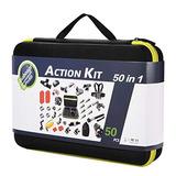 Kit De 55 Accesorios Para Gopro Hero 7 6 5 4 Asobeage