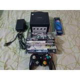 Gamecube + 5 Juegos Originales + 1 Control + Memory Card