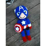 Capitan America Amigurumi Crochet