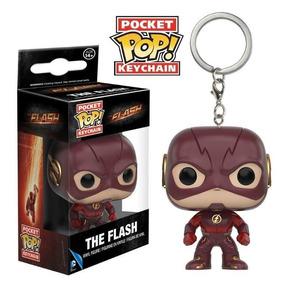 Chaveiro Colecionável - The Flash - Pocket Pop! Funko