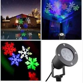 Espeto Projetor D Natal Laser Jardim Casa Desenhos Natalino
