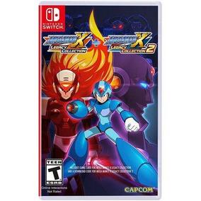 Mega Man X Legacy Collection 1+2 Switch Midia Fisica Lacrado