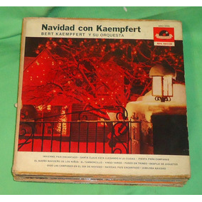Lp Vinilo Navidad Con Kaempfert Bert Kaempfert