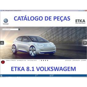 Catálogo Eletrônico De Peças Etka 2019 Vw Seat Skoda Audi