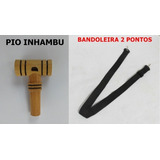 Apito Inhambu + Bandoleira 2 Pontos